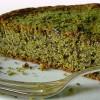 Torta di pistacchio, mandorle e pere