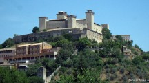 Spoleto e la sua Rocca panoramica