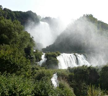 Pasquetta alla cascata delle Marmore