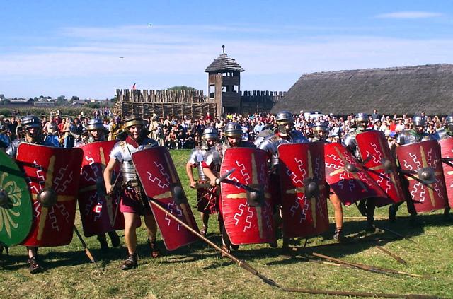 Scoperto accampamento romano trieste